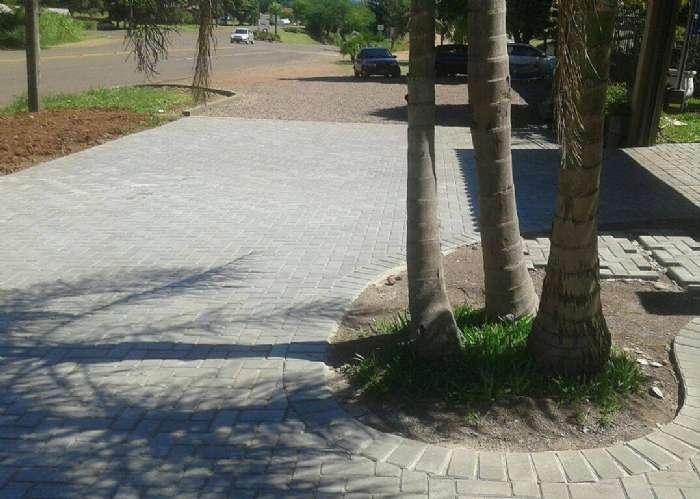 Pavimentação com Paver 35MPa